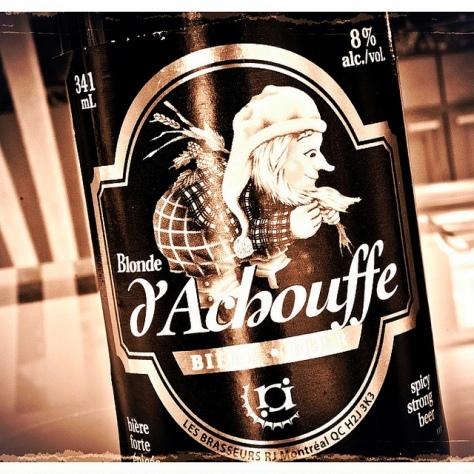 Обзор пива. R.J. Blonde D'Achouffe