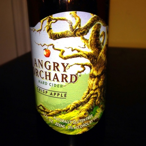 Обзор крепкого сидра. Angry Orchard Crisp Apple.