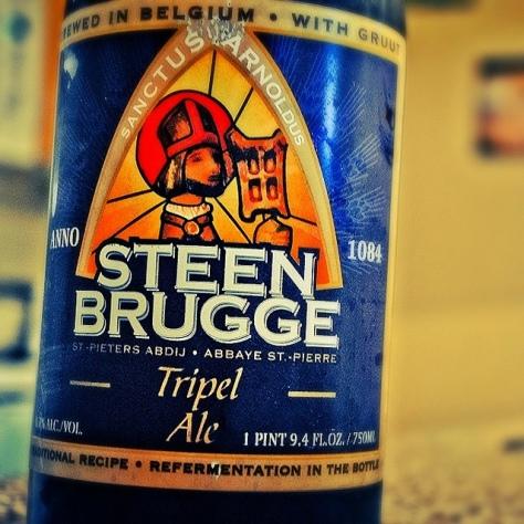 Обзор пива. Steenbrugge Tripel.