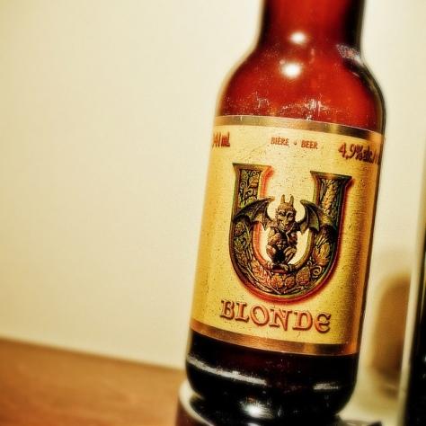 Обзор пива. Unibroue U Blonde.