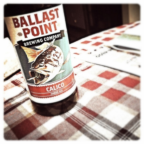 Обзор пива. Ballast Point Calico.
