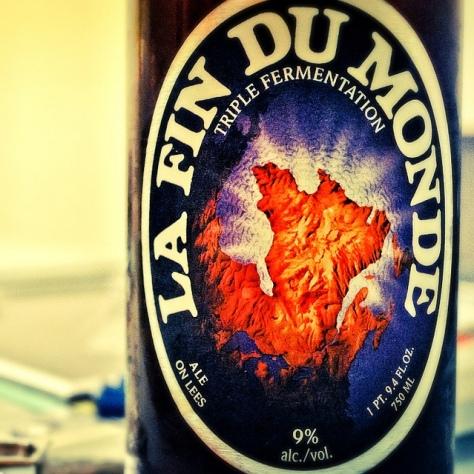 Обзор пива. Unibroue La Fin Du Monde.