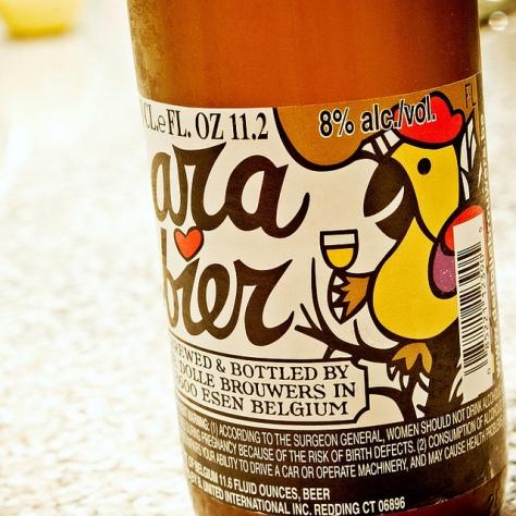 Пивоварня De Dolle. De Dolle Arabier. Обзор пива.