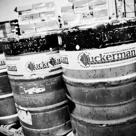 Крафтовая пивоварня. Tuckerman Brewery.