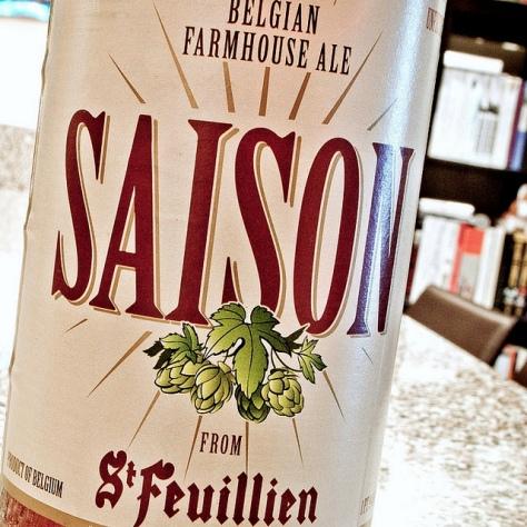 Обзор пива. St. Feuillien Saison.