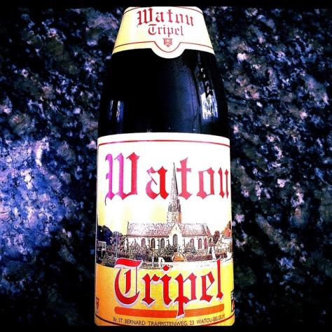 Обзор пива. St. Bernardus Watou Tripel.