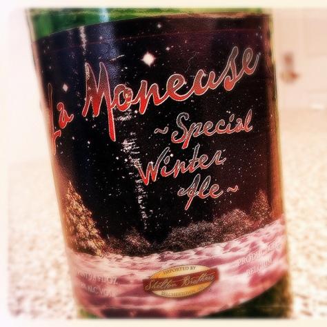 Обзор пива. La Moneuse Spéciale Noël.