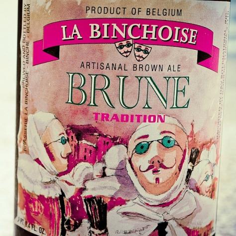 Обзор пива. La Binchoise Brune Tradition.