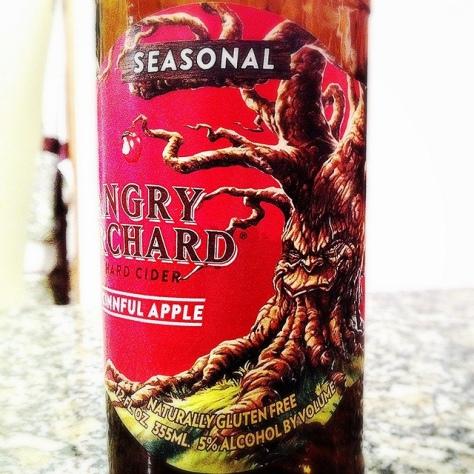 Обзор крепкого сидра. Angry Orchard Cinnful Apple.