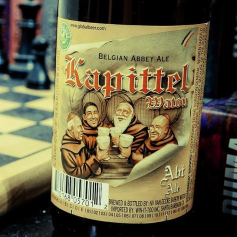 Обзор пива. Kapittel Abt Tripel.