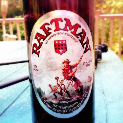 Обзор пива. Unibroue Raftman.