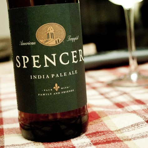 Американское траппистское пиво. Spencer Trappist India Pale Ale.