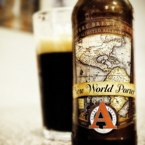 Обзор пива. Avery New World Porter.