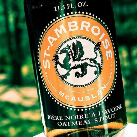 Обзор пива. McAuslan St-Ambroise Oatmeal Stout.