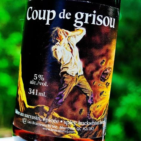 Обзор пива. R.J. Coup De Grisou.