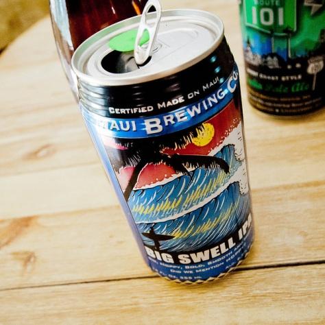 Maui Big Swell IPA. [Обзор пива].
