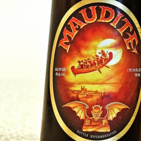Обзор пива. Unibroue Maudite.