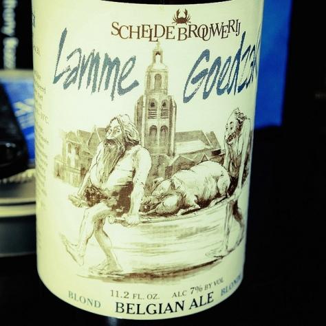 Обзор пива. Scheldebrouwerij Lamme Goedzak.