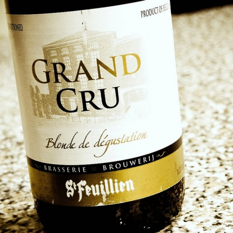 Обзор пива. St. Feuillien Grand Cru.