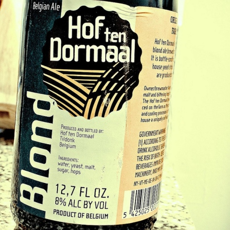 Обзор пива. Hof Ten Dormaal Blond.
