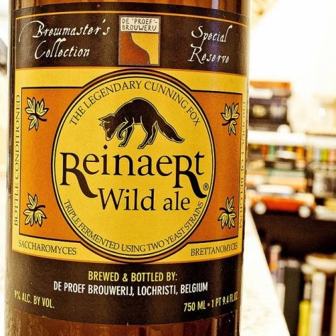 Обзор пива. Reinaert Flemish Wild Ale.