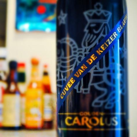Обзор пива. Gouden Carolus Cuvée Van De Keizer Blauw.