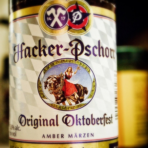 Обзор пива. Hacker-Pschorr Oktoberfest-Märzen.