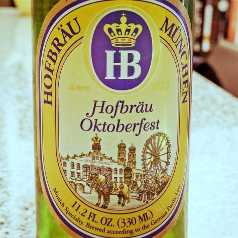 Обзор пива. Hofbräu Oktoberfestbier.