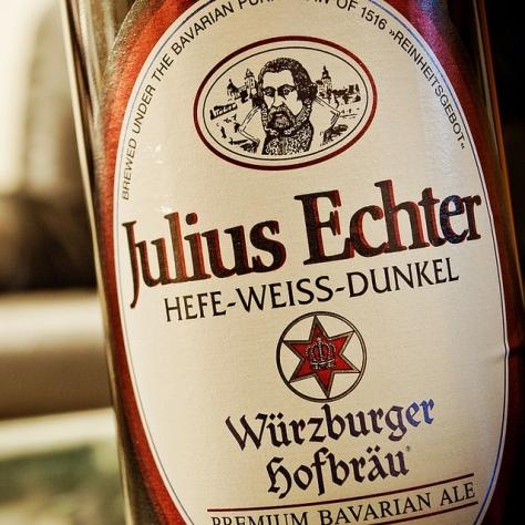 Обзор пива. Julius Echter Hefe-Weissbier Dunkel.