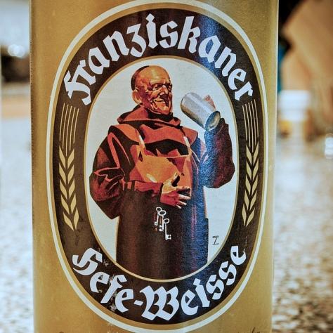 Обзор пива. Franziskaner Hefe-Weisse.