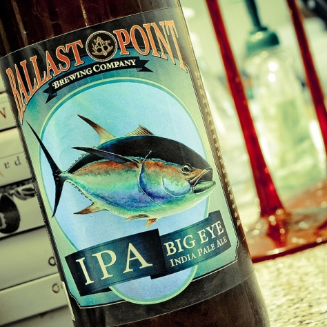 Обзор пива. Ballast Point Big Eye.