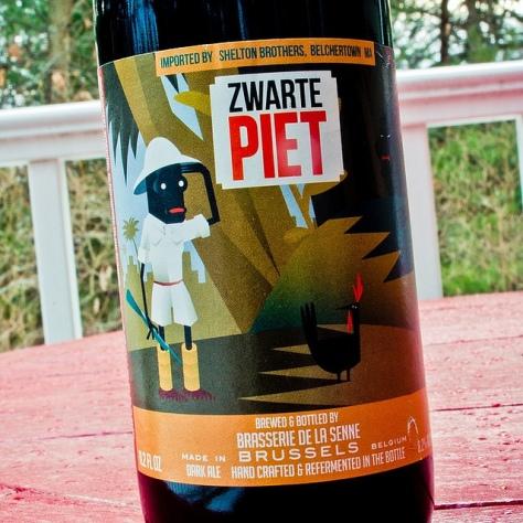 Обзор пива. De La Senne Zwarte Piet.