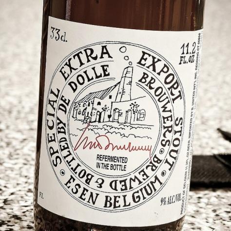 Пивоварня De Dolle. De Dolle Extra Export Stout. Обзор пива.