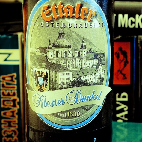 Обзор пива. Ettaler Kloster Dunkel.