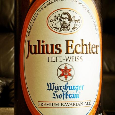 Обзор пива. Julius Echter Hefe-Weissbier.