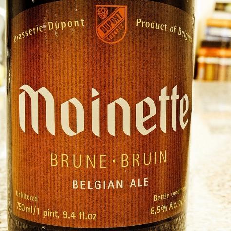 Обзор пива. Dupont Moinette Brune.