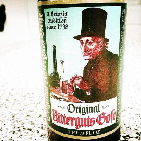 Обзор пива. Döllnitzer Ritterguts Gose.