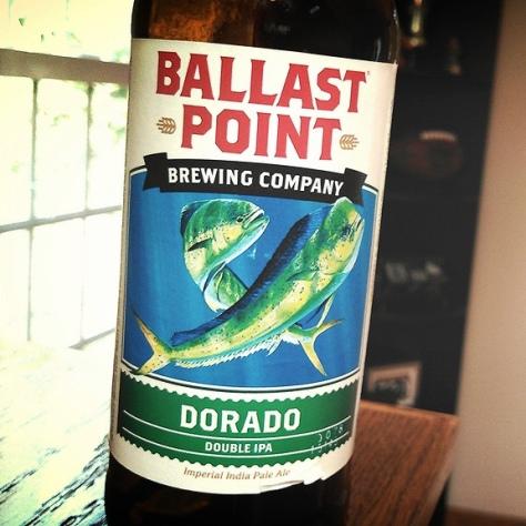 Обзор пива. Ballast Point Dorado.