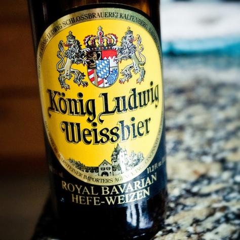 Обзор пива. Kaltenberg König Ludwig Weiss.