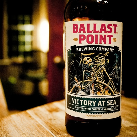 Обзор пива. Ballast Point Victory At Sea.