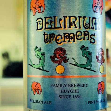 Обзор пива. Huyghe Delirium Tremens.