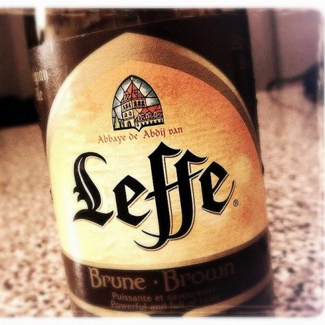 Обзор пива. Leffe Brune.