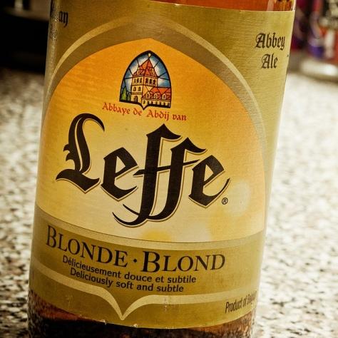Обзор пива. Leffe Blonde.