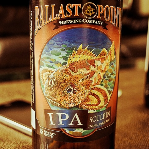 Обзор пива. Ballast Point Sculpin.