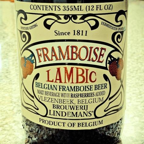 Обзор пива. Lindemans Framboise.
