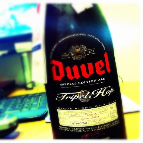 Обзор пива. Duvel Tripel Hop. 2010.