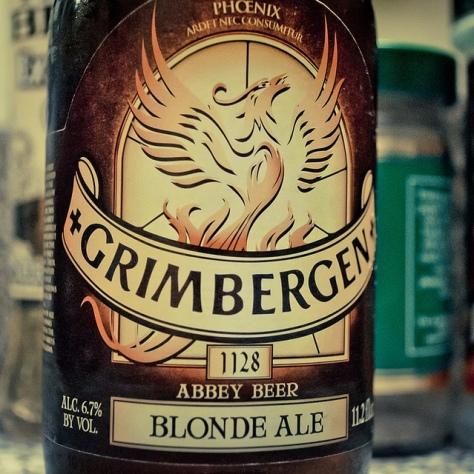 Обзор пива. Grimbergen Blonde.