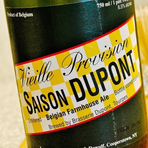 Обзор пива. Dupont Saison.