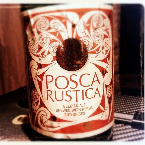 Обзор пива. Dupont Posca Rustica.