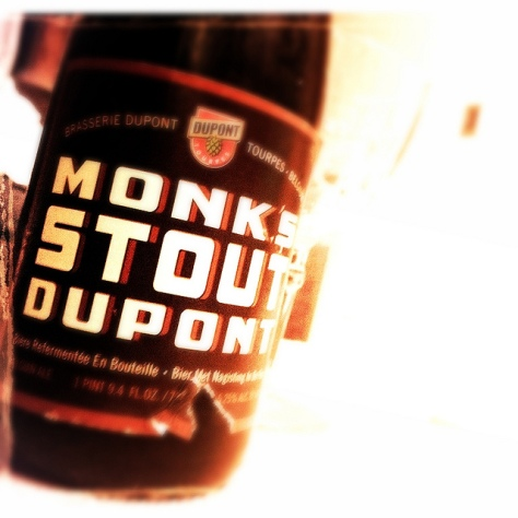 Обзор пива. Dupont Monk's Stout.